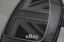 Feux arrière pour MINI ONE F55 F56 F57 3D 5D Cabriolet 14-18 JCW Design Argent