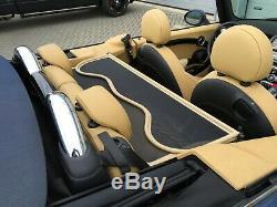 Filet Anti Remous Mini R52 & R57 Décapotable Beige Coupe Vente Cooper S