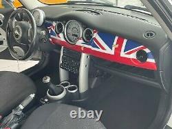 Habitacle Capot Union Jack Rouge Blanc Bleu Pour Mini One Cooper R50 R53 R52