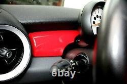 Intérieur Brillant Rouge Pour Mini One Cooper R55 R56 R57 R58 R59 Habitacle