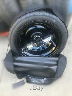 KIT roue de secours galette 15'' pour MINI CLUBMAN 07-13 R55 CRIC CLE ET sac