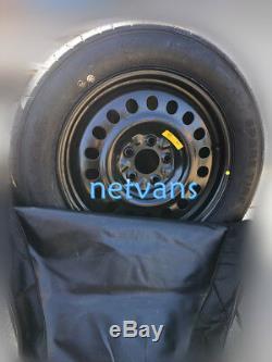 Kit roue de secours (galette) 17 MINI COUNTRYMAN 16 R60avec cric clé et housse