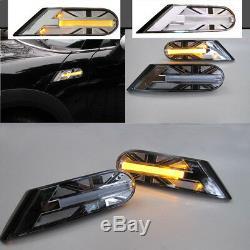LED des Voyants Clignotants Union Jack Noir pour Mini Cooper R56 R55 R57 R58 R59