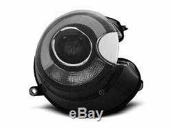 Lampu Depan MINI COOPER R55 R56 R57 R58 R59 06-14 LED Light Tube Hitam LPMC09EU