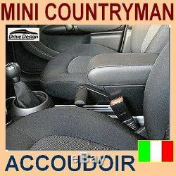 MINI COUNTRYMAN R60- accoudoir et stockage pour -armrest -apoyabrazos -Italy -@
