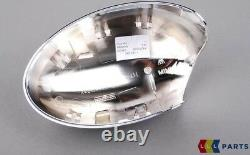 MINI Neuf Véritable Cooper R50 R52 R53 S Rétroviseur Casquette Chrome Set