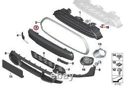 MINI Neuf Véritable F55 F56 F57 Jcw Avant Pare-Choc Avec Pdc Housse Noir 7379434