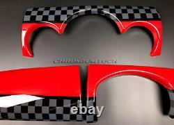MK1 Mini Cooper/S / One Jcw R50 R52 R53 Style Tableau de Bord Housse Pour Rhd
