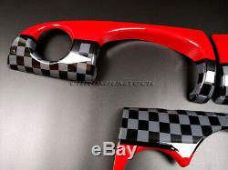 MK1 Mini Cooper/S / One Jcw R50 R52 R53 Style Tableau de Bord Housse pour