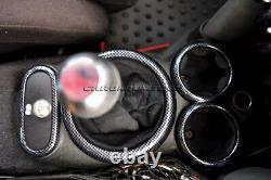 MK1 Mini Cooper/S / One R50 R52 R53 Carbone Fibre Aspect Intérieur Bord de Kit