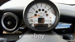 MK2 Mini Cooper / S/One / Jcw R55 R56 R57 R58 R59 Noir Tableau Panneau Housse