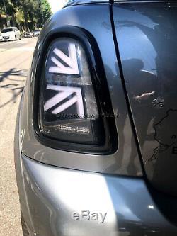 MK2 Mini Cooper/S R56 R57 R58 R59 Noir Union Jack Feux Arrière LCI Facelift