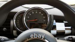 MK3 F55 F56 F57 Mini Cooper/S / One Chequererd Drapeau Bord Panneau Housse LHD