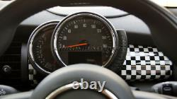 MK3 Mini Cooper / S/One / Jcw F55 F56 F57 Damier Drapeau Bord Panneau Housse LHD