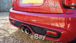 MK3 Mini F54 F55 F56 F57 Jcw Style Fibre de Carbone Embout D'Échappement