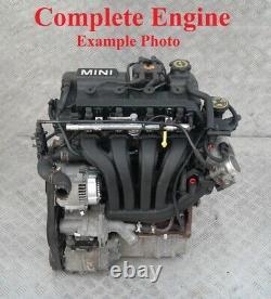 Mini Cooper One 1.6 R50 R52 Essence W10 Nue Moteur 59 000km W10B16A Garantie