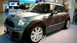 Mini Cooper R55 R56 R57 R58 R59 Haut Soleil Aero Body Kit Pare-Choc avant W /