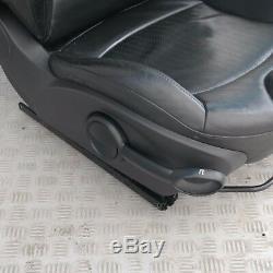 Mini Cooper R55 R56 R57 SPORT CUIR NOIR AVANT DROIT SEAT CÔTÉ CONDUCTEUR O' /