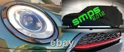Mini F54 Clubman Avant & Arrière Léger Housses Noir Brillant Tête & Feu Bords
