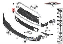 Mini Neuf D'Origine R55 R56 R57 R58 R59 Jcw S avant Centre Section Grille