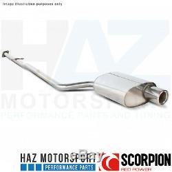 Mini One/Cooper R50 01-06 Scorpion Non-Res Catback Échappement Inoxydable Imola