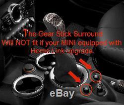Mk2 Mini Cooper R55 R56 R57 R58 R59 Chrome Intérieur Cadran