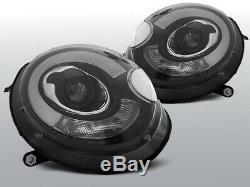 NEUF! Projecteurs MINI COOPER R55 R56 R57 R58 R59 2006-2014 LED Light Tube Noir