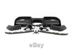 Neuf D'Origine Mini F56 F57 Jcw Pro Arrière Diffuseur Kit Pour Sans Pdc 2339047