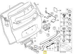 Neuf D'Origine Mini R50 R52 R53 Coffre Porte de Coffre Poignée Noir
