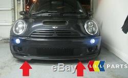 Neuf D'Origine Mini R50 R52 S R53 Jcw Gp Pare Choc avant Spoiler Noir 7182622