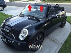 Neuf D'Origine Mini R52 R57 Convertible Haut Pare-Brise Panneau Housse 7200293
