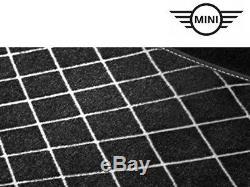 Original Mini Clubman F54 Textil-Fussmatten-Set Nattes Neuf 51472408524+2408526