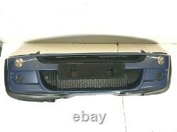 Original Occasion MINI Jcw / Aéro Avant Pare-Choc En Bleu R50 R52 R53 0021929