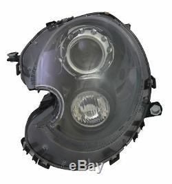 Phare Avant Mini R55 R56 R57 R58 R59 2006-2013 Conducteur Xenon Noir + Moteur
