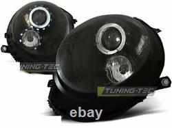 Pour Mini COOPER R55 R56 R57 R58 R59 06-14 Angel Eyes Black