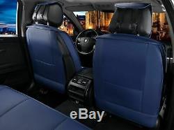 Pour Mini Cooper Bleu Simili Cuir Luxe Set Complet HOUSSES de Siège Drapeau Jack