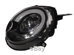 R52 R55 R56 R57 R58 R59 06-13 Halogen Project Feux Avant Phare BK for MINI LHD