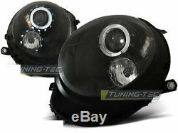 Scheinwerfer MINI COOPER R55 R56 R57 R58 R59 2006-2014 Standlichtringen Schwarz