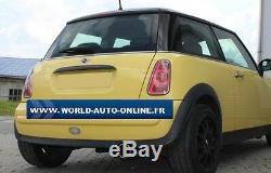 Silencieux arrière inox 1x100 Type 12 Mini One / Cooper R50 MN020001-053
