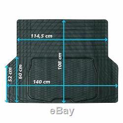 Tapis de Coffre Trunk Coffre Protection Caoutchouc Trim Universal