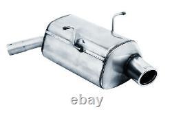 Ulter Inox Échappement Sport Mini Cooper + One R50 R53 01-06 1.4l 1.6l 1x90mm
