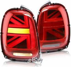 Union Jack Feu arrièr pour Mini Cooper F55 F56 F57 2014-2018 LED Feux Arrières